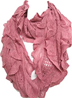Best ruffle infinity scarf Reviews