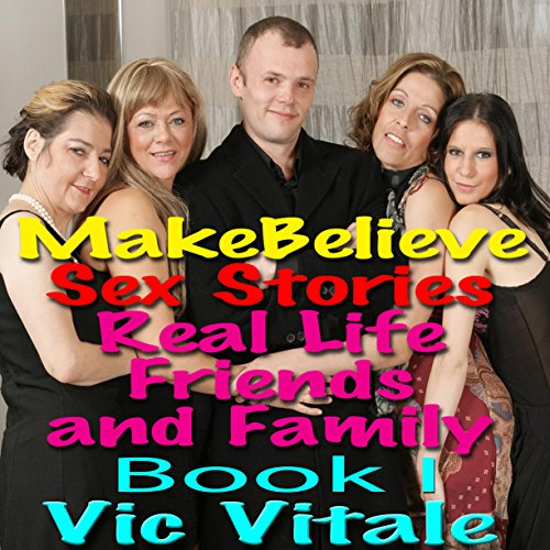 Make Believe Sex Stories audiobook cover art