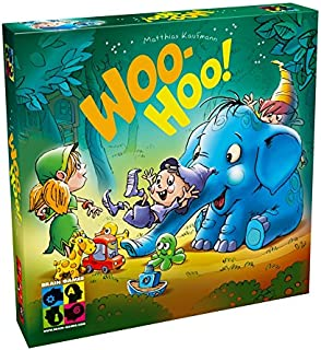 BRAIN GAMES Woo-Hoo! Kids Board Game - A Fun Board Game to Play with Families - Ideal for Children Age 3+ Learning to Count