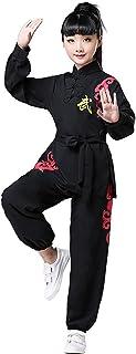 BAJIE Bambino Tai Chi Uniforme Cinese Tradizionale Marziale Arts Kung Fu Completo da Uomo Cotone Biancheria Codolo Complet...