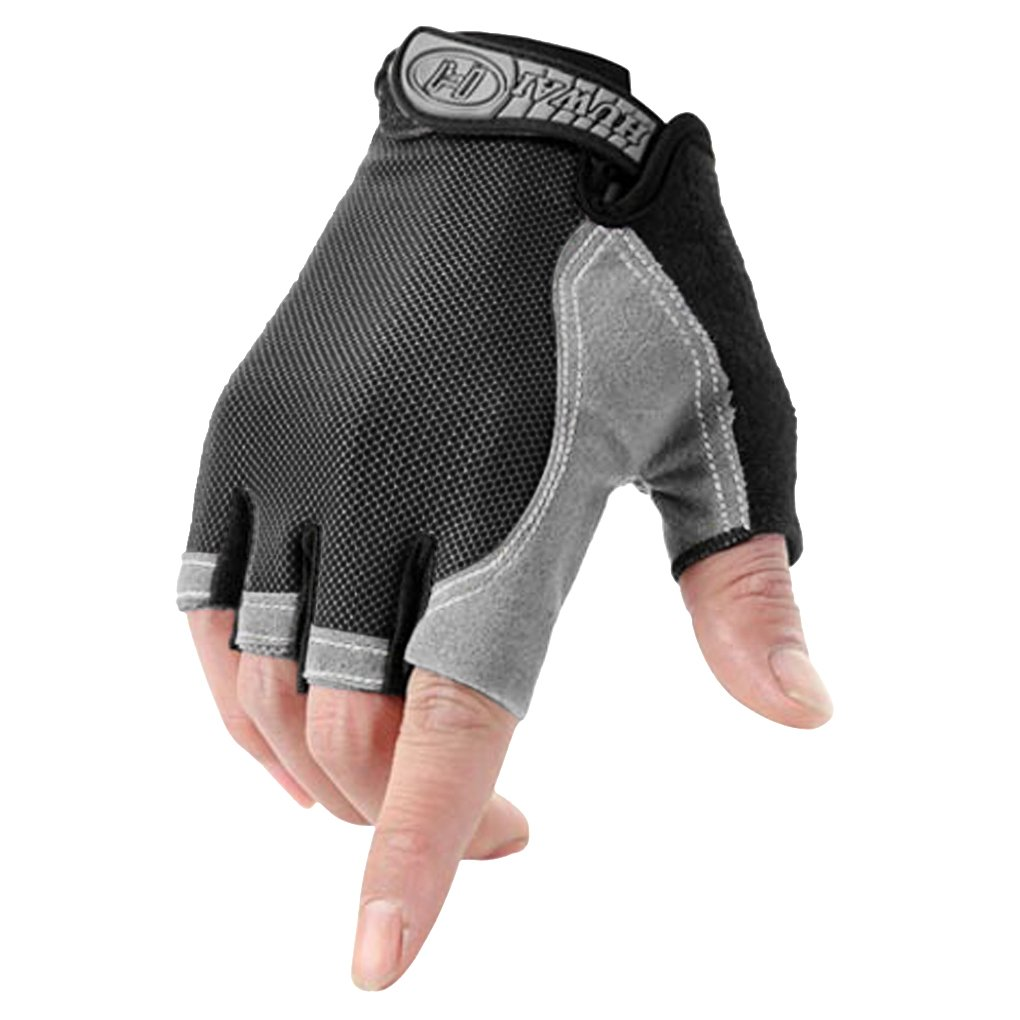 Half Finger Gloves Antiskid Cycling Glove Fitness Sports Hand Protector Mitten