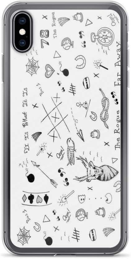 Kabry Compatible avec iPhone XR Coque Louis Tomlinson Tattoos, Louis Pure Clear Phone Coque Fall Protection Cover