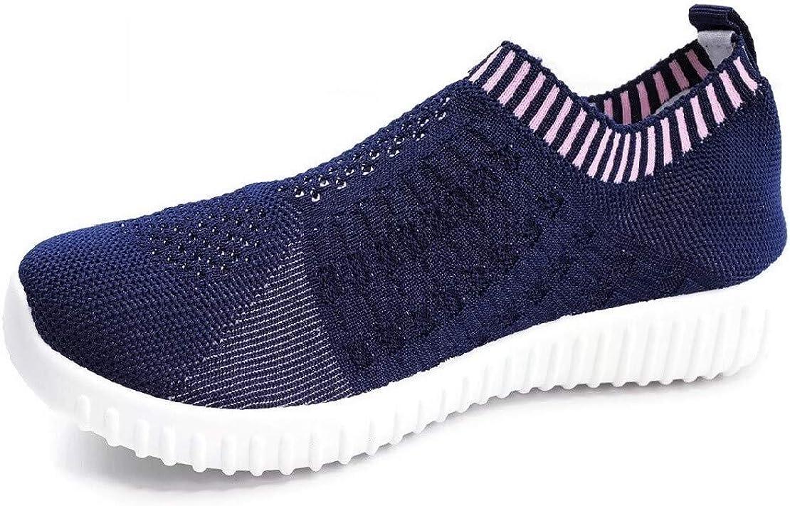 Elastic Knit Breathable Mesh Sneakers