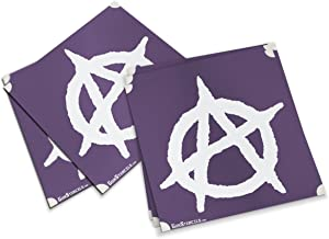 Anarchy Stencils for Guns, Magazines and Accessories - 5 Pack