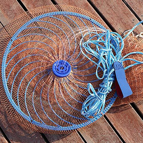 Ryoizen - Angelnetze in Orange, Größe 360cm
