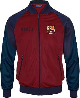 FC Barcelona - Chaqueta de entrenamiento oficial - Para hombre - Estilo retro