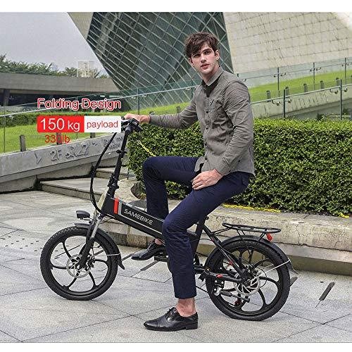 SAMEBIKE Elektro-Fahrrad