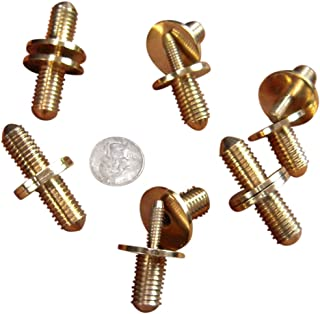 JWL Six Solid Brass Cane Connectors Couplers 1/2