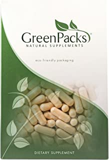 GreenPacks® Mucuna Pruriens Extract (Naturally Occurring 15% L-Dopa) Supplement - 90 Capsules