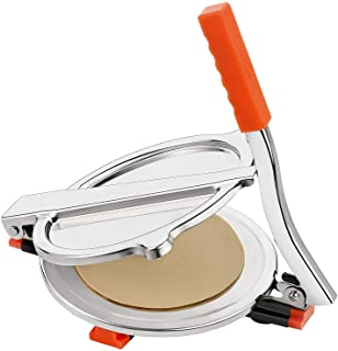 Finaldeals High Grade Stainless Steel Puri Press Papad Maker Roti Maker Easy to Use
