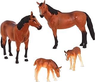 Horse Family, Terra and B Toys, multi color, AN2776Z, AN2822Z