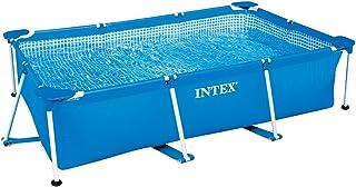 Intex Alberca de Estructura Metálica Rectangular Frame