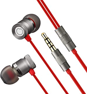 Auriculares In-Ear Metal Auriculares con Cable Sonido HiFi de Alta Resolución Y Baja Distorsión Anti-Ruido Auriculares Hea...