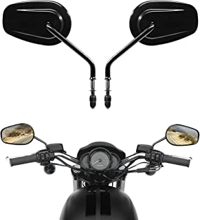 XMT-MOTO Universal Rear View Mirrors For Harley Dyna Street Bob FXDB Fat Bob FXDF