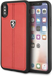a267f1ce744 Ferrari enemistad hcpxre CG Mobile Teléfono Móvil para Apple iPhone X Rojo