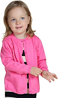 Baby Girls' Little Knit Cardigan Button Sweater for 12M-6T