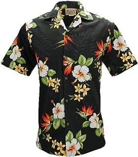 Tropical Luau Beach Cotton Print Men's Hawaiian Aloha Shirt
