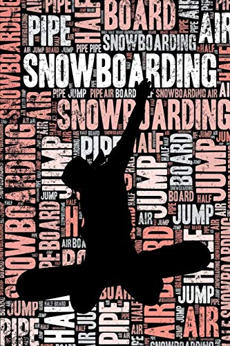 Womens Snowboarding Journal: Cool Blank Lined Womens Snowboarding Lovers Notebook For Female Snowboarder and Coach