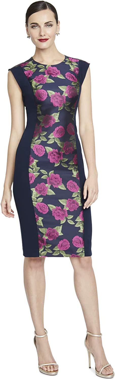 Rachel Roy Womens Karine Sheath Business Casual Dress