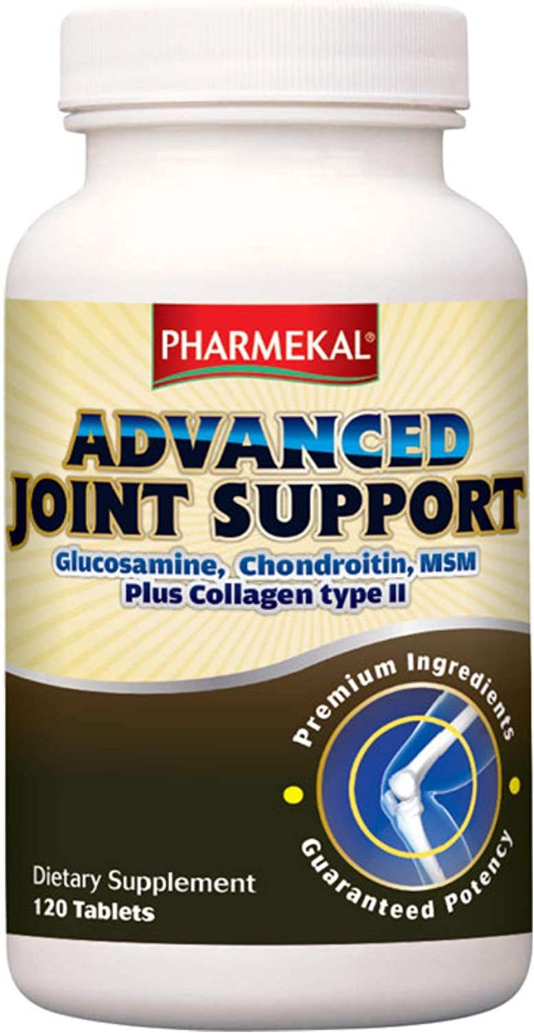 Pharmekal Advanced Joint Support Outstanding Large-scale sale 120 Glucosamine Tablets Cho -