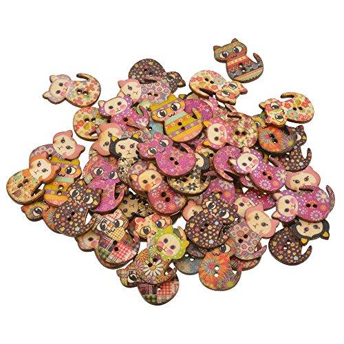 50 perles en bois naturel bois mixte formes et tailles pour les écoles holiday crafts