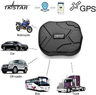 TKSTAR GPS Tracker, Car GPS Tracker for Vehicles Realtime Tracking Waterproof Portable Magnetic Tracking Device 90 Days Long Standby, Free Tracking & Monitoring System TK905