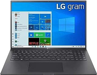 LG Gram 16Z90P-G Ultra Light Weight Laptop,IntelCore i7-1065G7,16Inch,1TB SSD,16GB RAM,Iris® Plus Graphics,Win10 Home, Bla...