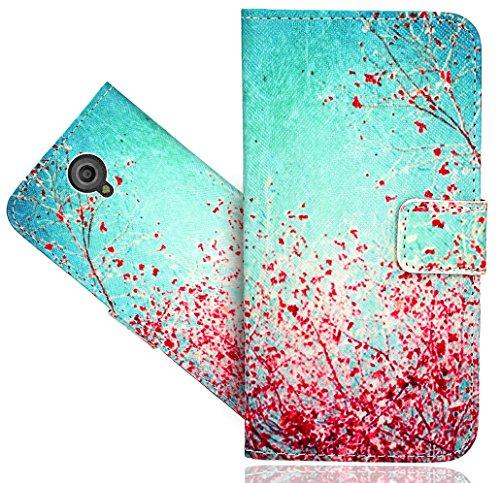 FoneExpert® Vodafone Smart Prime 7 Handy Tasche, Wallet Hülle Flip Cover Hüllen Etui Hülle Ledertasche Lederhülle Schutzhülle Für Vodafone Smart Prime 7