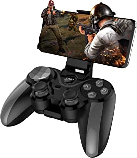 IPEGA PG-9128 Game Pad Wireless Gamepad Trigger Pubg Controller Mobile Joystick Compatible iOS/Android Devices PC Console Control(Play Straight)