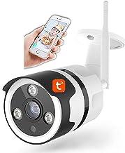 Tuya Wifi IP Camera, 1080P Nachtzicht Thuis Surveillance Outdoor IP66 Waterdichte Auto Tracking Beveiligingscamera werkt m...