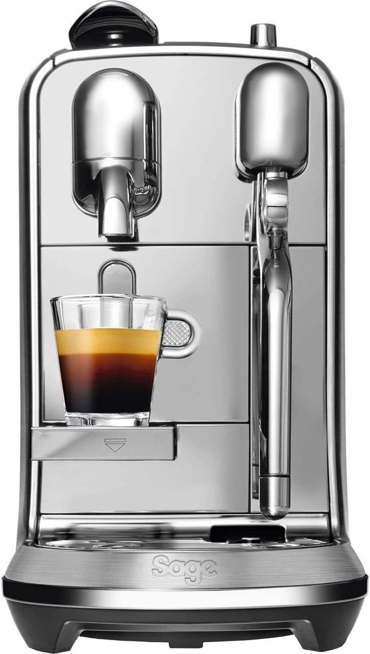 Nespresso BNE800 Creatista Sage, Brushed, 1600 W, 1.5 liters, Stainless Steel (Plus)