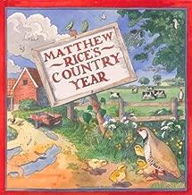 Matthew Rice's Country Year