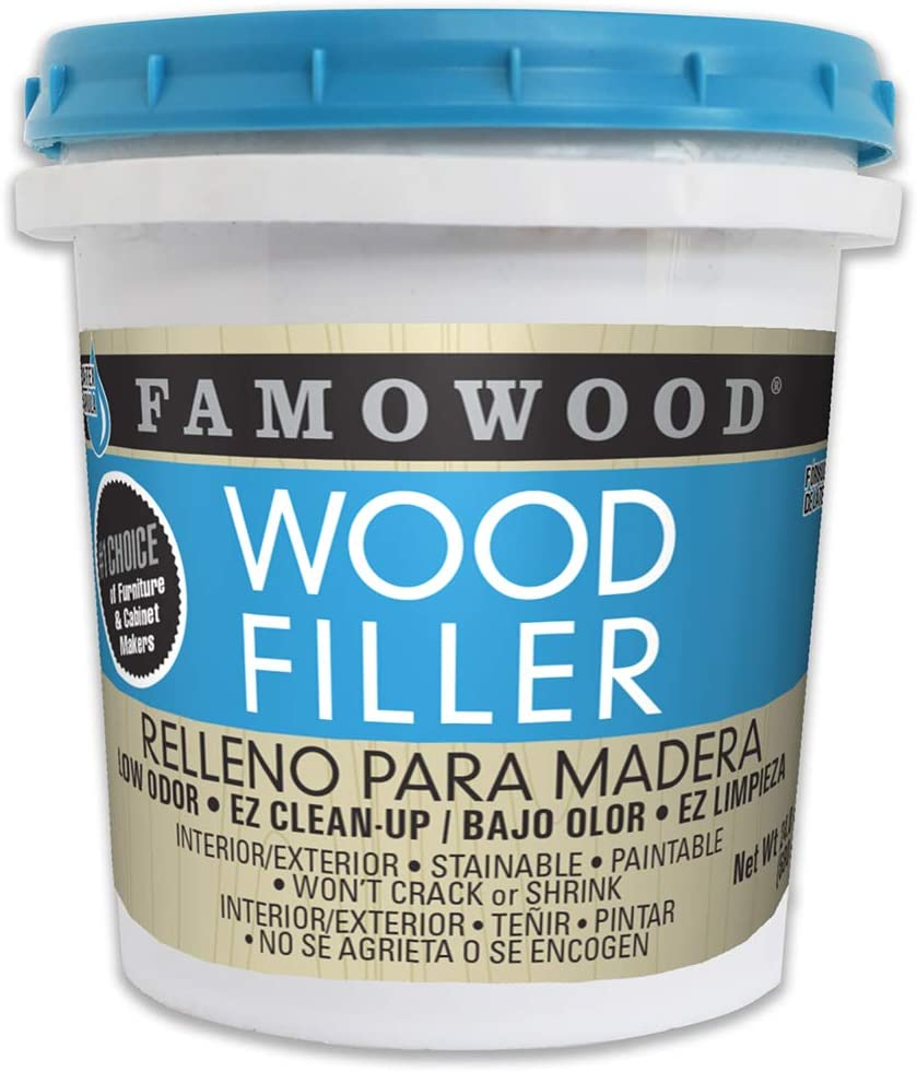 FamoWood 40022148 Latex Wood Filler price White Pine half Pint -
