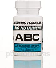 Systemic Formulas Bio Nutriment ABC Acidophilus and Bifidus Complex 60 V Capsules
