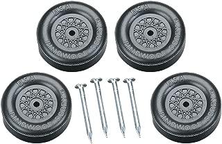 Revell Pinewood Derby Wheel & Axle Set, Black