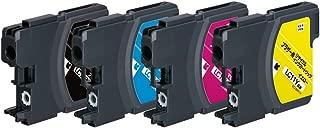 【Amazon.co.jp限定】 エコリカ リサイクルインクカートリッジ Brother(ブラザー) LC114PK 4色パック EC-LC114PKA (FFP・封筒パッケージ)