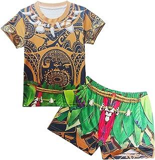 Dressy Daisy Toddler Big Boys Little Kids Maui Bathing Suit Swimwear Swimsuit Summer Pool Party Costume Size 2T - 8 077
