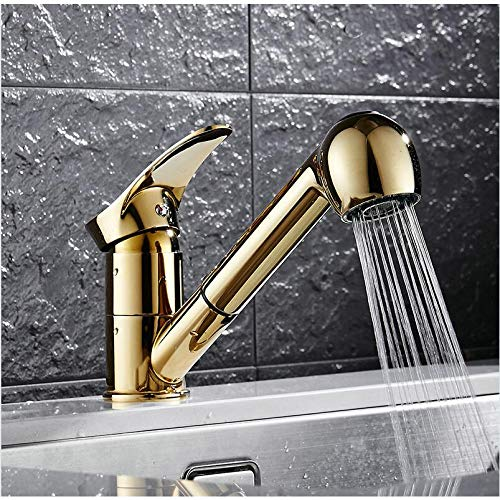 Find Discount TTOOTAP Faucet Kitchen Faucets 360 Degree Swivel Pull Out Kitchen Sink Faucet Water-Sa...