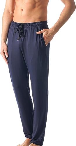 Mey Hommes 65660-668 Hommes's Jefferson Yacht bleu Solid Colour Pajama Pyjama Pant XXgrand