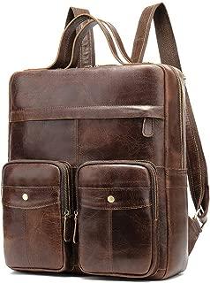 Best genuine leather mens backpack Reviews
