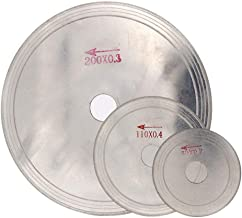 YYOBK JP Hoja De Sierra Circular De Diamante Ultra Delgada, 3/4/5/6/8 Pulgadas De Corte Arbor Discos De Jade 1pcs (Size : 80x20x0.3mm)
