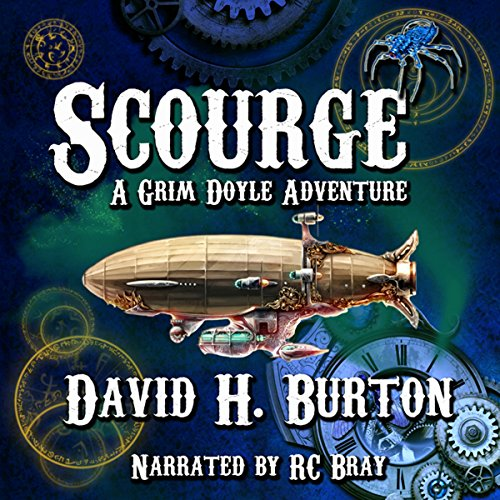 Scourge audiobook cover art
