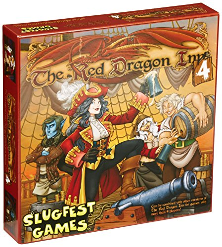Red Dragon Inn 4 Red Dragon Exp., Stand Alone Boxed Card Game