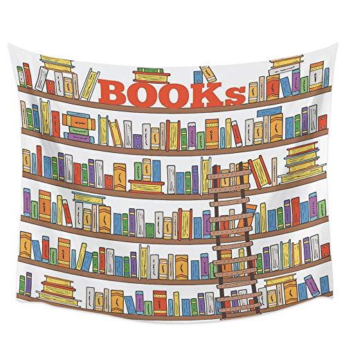 rkmaster Books Gemalt im Bücherregal...