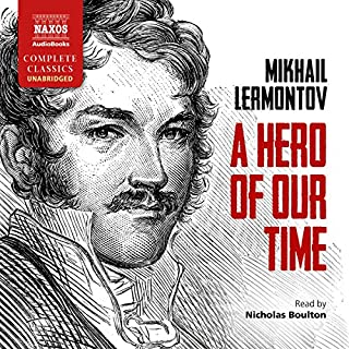 A Hero of Our Time audiobook cover art