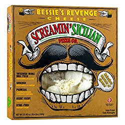 Screamin' Sicilian, Cheese Pizza Bessie's Revenge, 20.8 oz (Frozen)