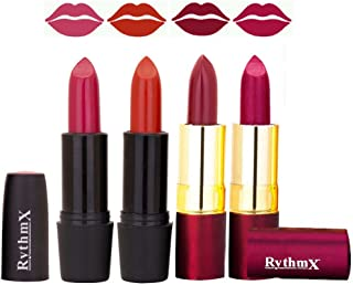 Black and purple label lipsticks