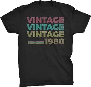 39th Birthday Gift T-Shirt - Retro Birthday - Vintage 1980