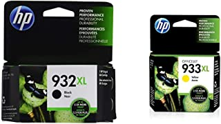 $55 » HP 932XL | Ink Cartridge | Black | CN053AN & 933XL | Ink Cartridge | Yellow | CN056AN