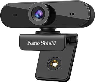 Cámara web USB 1080P con micrófonos estéreo, transmisión